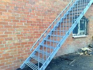 Лестница наружная металлическая своими руками - Mink-caps.ru